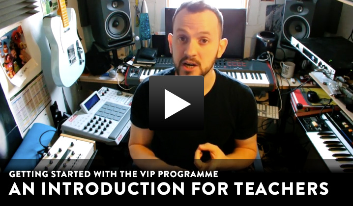 Play Charanga VIP teacher introduction video